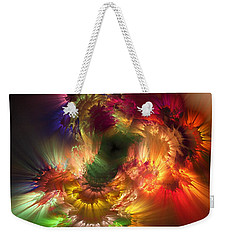 Auras Emotional Reflections Weekender Tote Bag