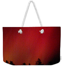 Weekender Tote Bag featuring the photograph Aurora 01 by Brent L Ander