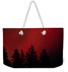 Weekender Tote Bag featuring the photograph Aurora 02 by Brent L Ander