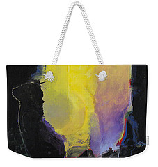 Weekender Tote Bag featuring the painting Aurora by Cliff Spohn