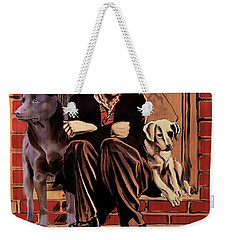 Australian Kelpie - A Dogs Life Movie Poster Weekender Tote Bag