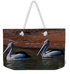 Australian Pelicans Weekender Tote Bag