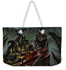Autopsy Of The Damned  Weekender Tote Bag by Tony Koehl
