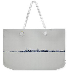 Autum Skyline Weekender Tote Bag