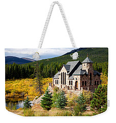 Weekender Tote Bag featuring the photograph Autumn At St. Malo  by Jim Garrison