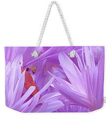 Autumn Crocus Weekender Tote Bag