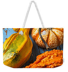 Autumn Gourds Still Life Weekender Tote Bag