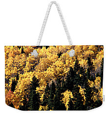 Autumn In Colorado Painting Weekender Tote Bag