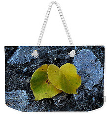 Weekender Tote Bag featuring the photograph Autumn Is My Love by Marija Djedovic