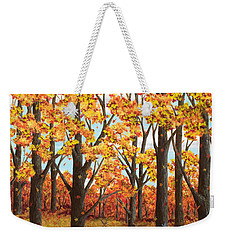Autumn Meadow Weekender Tote Bag