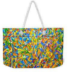 Autumn Music Weekender Tote Bag by Vivian Anderson
