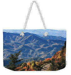 Autumn On The Blue Ridge Parkway Weekender Tote Bag by Lynne Jenkins