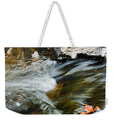 Autumn Stream Weekender Tote Bag by Cheryl Baxter