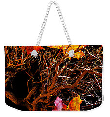 Weekender Tote Bag featuring the photograph Autumnal Feelings by Beverly Cash