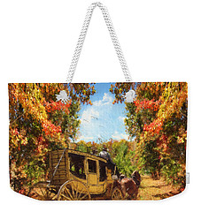 Autumn's Essence Weekender Tote Bag by Lourry Legarde