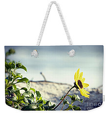 Awaiting Daisy Weekender Tote Bag by Janie Johnson