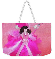 Weekender Tote Bag featuring the painting Awareness by Alys Caviness-Gober