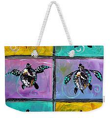 Baby Sea Turtles Six Weekender Tote Bag