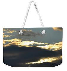 Backlit Clouds Weekender Tote Bag