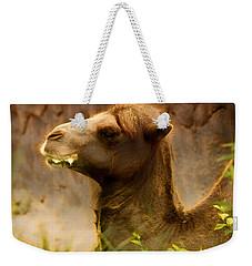 Bactrian Camel Weekender Tote Bag