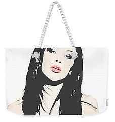 Bad Girl Weekender Tote Bag
