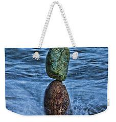 Balancing Weekender Tote Bag