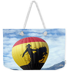 Weekender Tote Bag featuring the photograph Balloon 24 by Deniece Platt