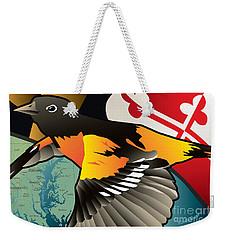 Baltimore Oriole Weekender Tote Bag
