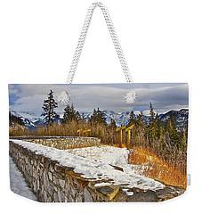 Banff Scene Weekender Tote Bag