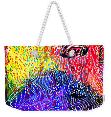 Weekender Tote Bag featuring the painting Baptism Of The Lord Jesus by Gloria Ssali
