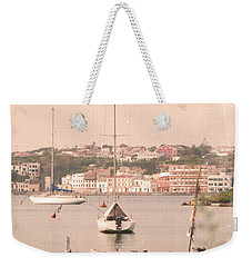 Weekender Tote Bag featuring the photograph Barbara by Pedro Cardona