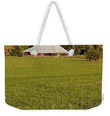 Weekender Tote Bag featuring the photograph Barn Near Murphy by Mick Anderson