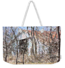 Barn Through Trees Weekender Tote Bag by Donna G Smith