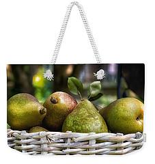 Basket Of Pears Weekender Tote Bag