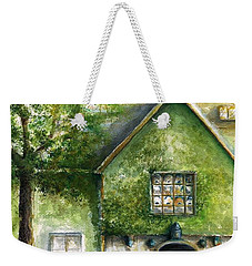 Weekender Tote Bag featuring the painting Bass Fiddle At Ford Gala II by Bernadette Krupa