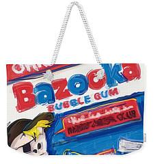 Bazooka Weekender Tote Bag