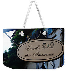 Weekender Tote Bag featuring the photograph Be My Valentine by Dany Lison