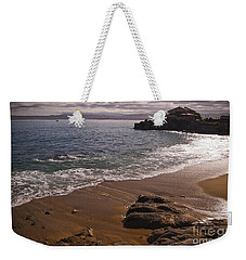 Beach At Monteray Bay Weekender Tote Bag by Darcy Michaelchuk