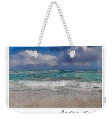 Beach Background Weekender Tote Bag