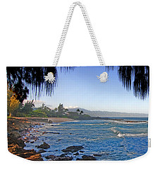 Beach On North Shore Of Oahu Weekender Tote Bag