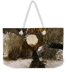 Weekender Tote Bag featuring the painting Beachcomber  by Cliff Spohn