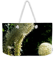 Weekender Tote Bag featuring the photograph Bear-grass I by Sharon Elliott