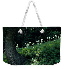 Weekender Tote Bag featuring the photograph Bear-grass Ridge II by Sharon Elliott