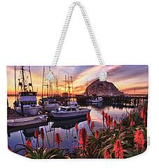 Beautiful Morro Bay Weekender Tote Bag