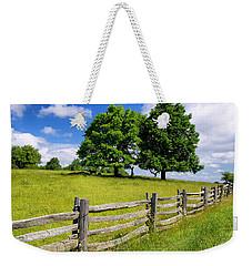 Beautiful Virginia Pasture Weekender Tote Bag