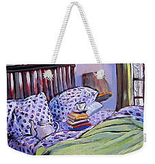 Bed And Books Weekender Tote Bag