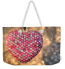 Bedazzle My Heart Weekender Tote Bag
