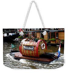 Beer Boat Weekender Tote Bag
