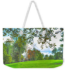 Weekender Tote Bag featuring the photograph Beginning Of Fall by Michael Frank Jr