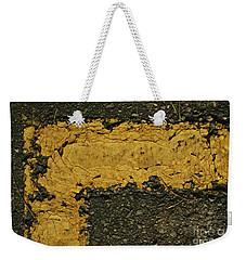 Behind The Yellow Line Weekender Tote Bag